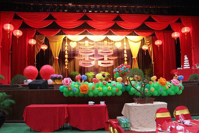 Happy swan balloon decoration malaysia wedding for Balloon decoration for wedding malaysia